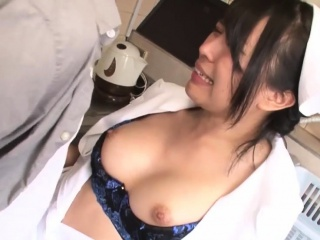 Natsume Eri Cosplay Nurse Fucked In The Scullery
